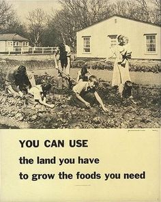 Victory garden poster