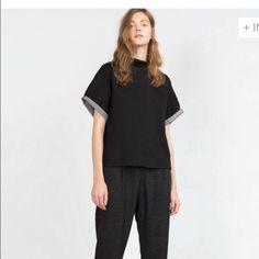 Shirt for Ashley Black top Zara Tops Tunics
