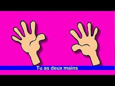 Les parties du corps - Des os, il en faut - alain le lait  (French body parts).  Primary French!
