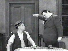 """The Honeymooners"" (1955-56) Art Carney as Ed Norton Jackie Gleason as Ralph Kramden // ALifeSettlement.com"