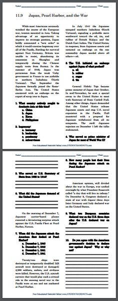 world war ii writing exercises sheet 1 for high school world history free to print pdf. Black Bedroom Furniture Sets. Home Design Ideas