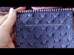 Knitting Stiches, Knitting Videos, Knitting Charts, Knitting Projects, Knitting Needles, Dress Sewing Patterns, Stitch Patterns, Knitting Patterns, Crochet Lace Edging