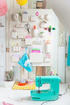 pretty little organized corner