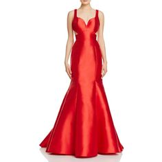 Jovani Fashions Sweetheart Cutout Gown (440 AUD) ❤ liked on Polyvore featuring dresses, gowns, red, glamorous dresses, red sweetheart gown, racer back dress, sweetheart gowns and sweetheart neckline dress