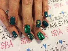 St.patty Nailart.