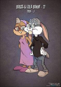 Personagens da Disney envelhecido