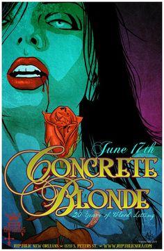 Concrete Blonde - Vance Kelly - 2010 ----