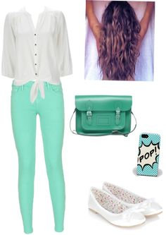 """""""azul turquesa"""" by missjucca2001 ❤ liked on Polyvore"""