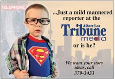 Tribune superstar!  www.albertleatribune.com
