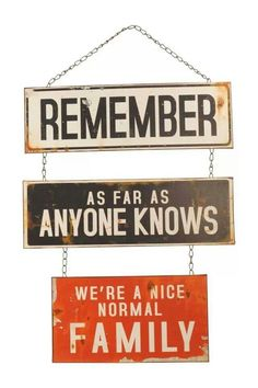 Nós sabemos. ..mas convém lembrar