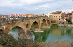 Place: Puente de la Reina / Navarra, Spain. Photo by: Unknown