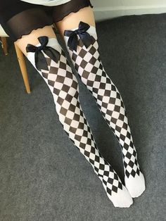 Women's Cosplay Striped Knee stockings - Japanese