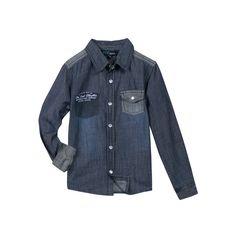 Camicia in denim per i maschietti di casa. Nuova collezione pe16 Zgeneration. #newcollection #pe16 #zgeneration