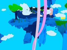 #art #3d #c4d #cinema4d #pixar #artedigital #island #modeling #graphic Disney olha eu... by vini_edu_lima
