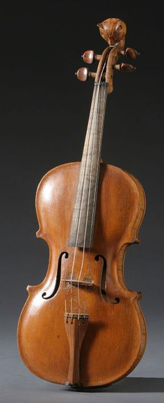 Cat Head Violin   From a unique collection of antique and modern musical instruments at http://www.1stdibs.com/furniture/more-furniture-collectibles/musical-instruments/