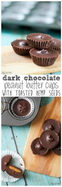 Dark Chocolate Peanut Butter Cups | take two tapas