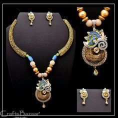 Gorgeous Necklace set for your favorite people on some special occasion. Colorful agate, ornate and Beads necklaces to bring that priceless smile on their faces. Necklace Set, Beaded Necklace, Gold Necklace, Antiques Online, Jewellery Designs, Indian Jewelry, Agate, Special Occasion, Pride