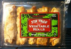 What's Good at Trader Joe's?: Trader Ming's Stir Fried Vegetable Rolls