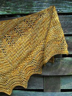 Geology Shawl pattern by verybusymonkey - Stola Stricken Knit Or Crochet, Lace Knitting, Crochet Shawl, Crochet Granny, Shawl Patterns, Stitch Patterns, Knitting Patterns, Knitting Tutorials, Knit Cowl
