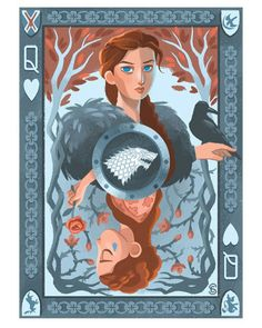 sansaskywalker: The Three Queens by. Winter Is Here, Winter Is Coming, Game Of Thones, Got Game Of Thrones, Sansa Stark, Mother Of Dragons, Princesas Disney, Fantasy Art, Anime