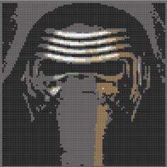 Lego Kylo Ren Mosaic Star Wars by OnceUponABrick on Etsy