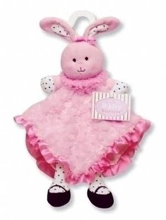 $12.99 Girl Bunny Snuggle Buddy