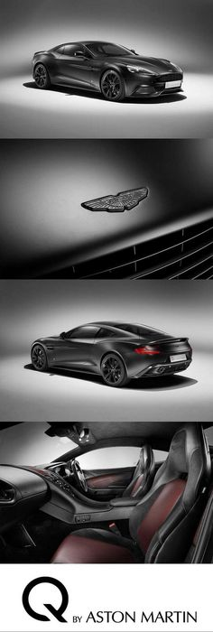 Q by Aston Martin; wow, I could def see hubby driving this one day!