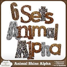 6 Animal Fur Alpha