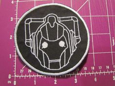 Cyberman Patch by PatchsPatches on Etsy