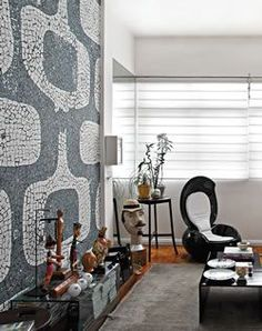 Revista Decorar mais por menos :: Decor, Living Room, Room, Wall Decor, Home Office, Dining, Home Decor, Curtains
