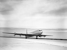 Convair XC-99 Takeoff - The Convair XC-99, a prototype heavy cargo aircraft built for the US Air Force, was the largest piston-engined land-based transport aircraft ever built. It was derived from the B-36 bomber. The first flight was on 23 November 1947 in San Diego, California.