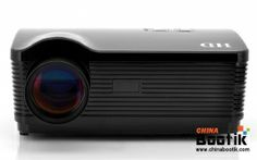 "Android 4.2 HD Projector ""DroidBeam"" - 3000 Lumens, 2000:1, WiFi, 1.5GHz Dual Core CPU, 8GB Internal Memory (Black) #projector"