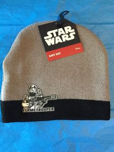 8c76e9121b06c Disney Star Wars Flame trooper Kids Boys Beanie Knit Warm Winter Hat brand  new