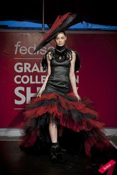 First Year Design: Avant- Garde Fashion Showstopper  #runway #catwalk
