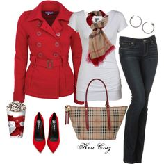 """""""Cute Winter Outfit"""" by keri-cruz on Polyvore"""