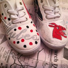 University of central Missouri DIY shoes