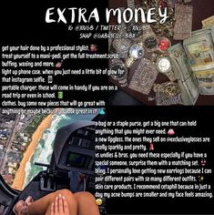These 3 lose unit fast tips are pretty grassroots, but they're PROVEN TO Transmute Girl Advice, Girl Tips, Girl Life Hacks, Girls Life, Making Money Teens, Minions, Jobs For Teens, Teen Money, Hoe Tips