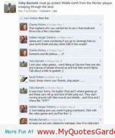 Funny Facebook Status - http://myquotesgarden.com/funny-facebook-status/