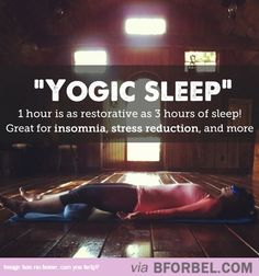 Try Out The Magical Yogic Sleep…