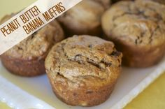 Peanut Butter Banana Muffins – Once A Month Meals