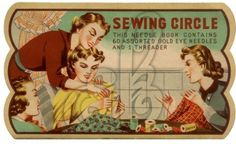 Sewing Circle Needle Book Free Image | Amybarickman.com