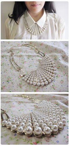 Perfect pearls. #vintage