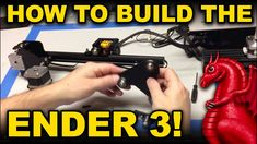Creality Ender 3 assembly and pro build tips Pro Builds, 3d Projects, 3d Printer, Helpful Hints, Printing, Building, Tips, Youtube, Robot