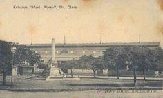 RRR POSTAL DE LA ESTACION CENTRAL DE FERROCARRILES MARTA ABREU - SANTA CLARA - CUBA (Postales - Postales Extranjero - América - Cuba)