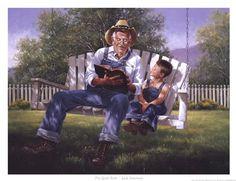 Good Book by Jack Sorenson art print