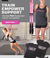 Inspired By Fitness Helps The Fight Against Breast Cancer with 15% Discount on the new Pink TRX Suspension Trainers!