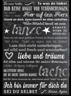 Sehe dir das Foto von Bluemchen mit dem Titel Schöner Spruch und Lebensweisheit für Kinder und andere inspirierende Bilder auf Spaaz.de an.