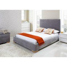 Sleep Sanctuary UK // Lindley Upholstered Bed Frame - $249.00