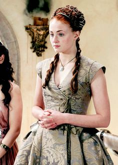 Game of Thrones Sansa Stark costume design... But I don't want to spend a million bucks