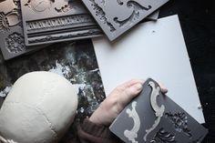 pulling castings,technique,tutorial,paper clay